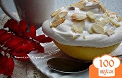 Фото рецепта: «Половинки грейпфрукта под снежной шапочкой»