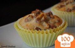Фото рецепта: «Банановые кексы с орехами»