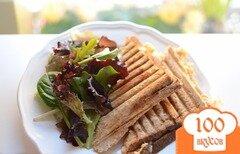 Фото рецепта: «Тосты в бутерброднице»