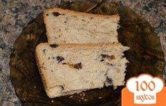 Фото рецепта: «Десертный хлеб с изюмом, тыквенными семечками и корицей»