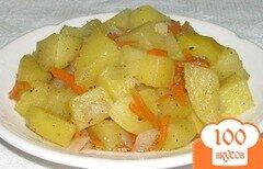 Фото рецепта: «Картошка с морковью»