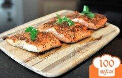 Фото рецепта: «Филе лосося на сковороде»