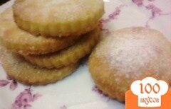Фото рецепта: «Хрупкое печенье на варёных желтках»