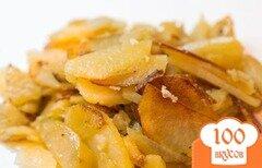 Фото рецепта: «Жареный картофель с чесноком»