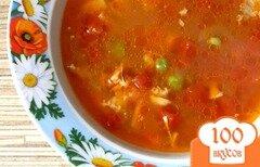 Фото рецепта: «Томатный куриный суп»