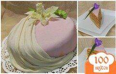 Фото рецепта: «Торт с шоколадным кремом и пралине»