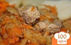 Фото рецепта: «Капуста с мясом в мультиварке»