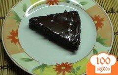 Фото рецепта: «Шоколадно - банановый тортик»
