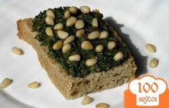 Фото рецепта: «Грибной паштет со шпинатом»