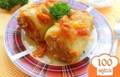 Фото рецепта: «Перец болгарский фаршированный»