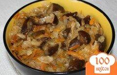 Фото рецепта: «Капустная солянка с грибами»
