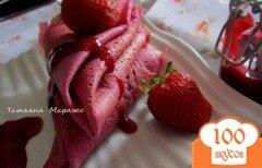 Фото рецепта: «Розовые блинчики»