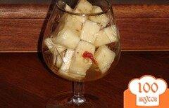 Фото рецепта: «Маринованный сулугуни»