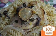 Фото рецепта: «Курица с оливками и лимоном»