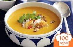 Фото рецепта: «Суп-пюре из тыквы»