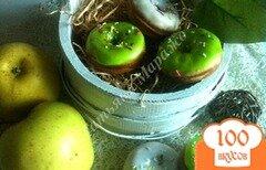 Фото рецепта: «Яблочные пончики»