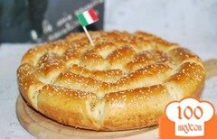 Фото рецепта: «Хлеб с пармезаном и итальянскими травами.»