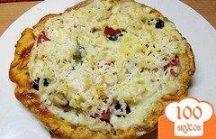 Фото рецепта: «Заливная пицца»