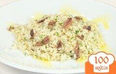 Фото рецепта: «Рис с анчоусами»