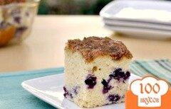 Фото рецепта: «Черничный пирог»