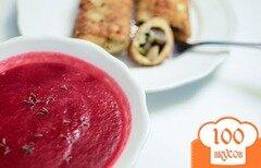 Фото рецепта: «Суп-пюре из свеклы»