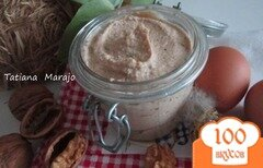 Фото рецепта: «Яичный паштет с орехами»
