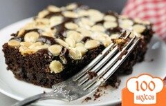 Фото рецепта: «Черно-белый торт»