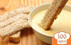 Фото рецепта: «Соус сливочный с чесноком»