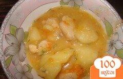 Фото рецепта: «Соус курица с картошкой»
