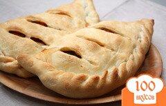 Фото рецепта: «Закрытая пицца»
