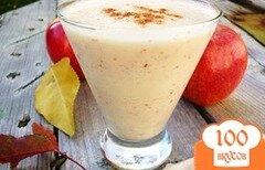 Фото рецепта: «Яблочный смузи»