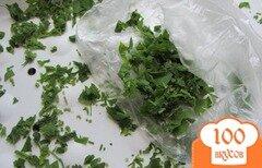 Фото рецепта: «Рассыпчатую замороженную петрушку»