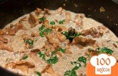 Фото рецепта: «Лисички в духовке»
