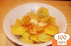 Фото рецепта: «Желтые пельмешки без спешки»