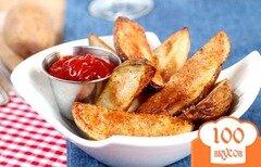 Фото рецепта: «Запеченный картофель в духовке»