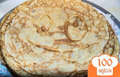 Фото рецепта: «Сладкие блинчики от Джулии Чайлд»
