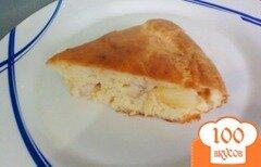 Фото рецепта: «Заливное пирог с курицей и картофелем»