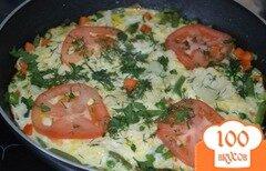 Фото рецепта: «Полезный омлет на завтрак»