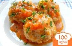 Фото рецепта: «Тефтели куриные с капустой»