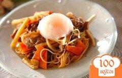 Фото рецепта: «Лапша с мясным соусом»