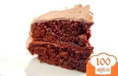 Фото рецепта: «Шоколадно-кофейный торт»