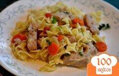 Фото рецепта: «Cвинина с овощами и яичной лапшой»