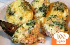 Фото рецепта: «Фриттата с беконом и козьим сыром»