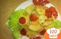 Фото рецепта: «Ароматные картофельные лепешки»