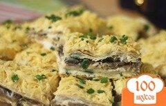 Фото рецепта: «Пирог с груздями и картошкой»