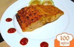 Фото рецепта: «Лосось в горчичном соусе»