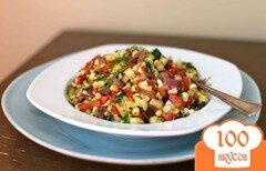 Фото рецепта: «Салат из овощей гриль»