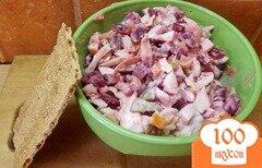 Фото рецепта: «Сытный овощной салат»