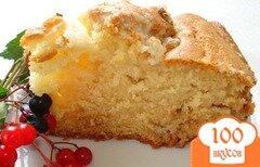 Фото рецепта: «Американский сметанный пирог»