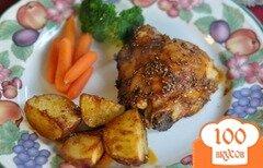 Фото рецепта: «Курочка с розмарином и картофелем»